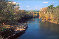 Illinois River Oklahoma.  Photography by Ron Day.