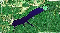 Lake Spavinaw Creek Oklahoma map