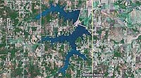 Shawnee Twin Lakes Oklahoma map